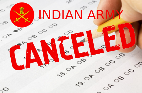 Army Recruitment Exam 2021 cancelled after paper leaked