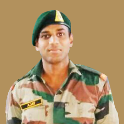 Charlie academy placeed student in Indian Army